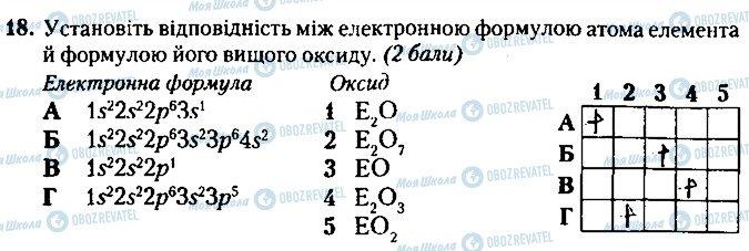 ГДЗ Хімія 8 клас сторінка 18