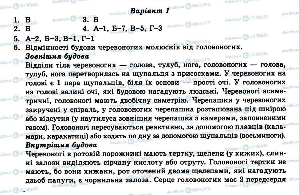 ГДЗ Біологія 8 клас сторінка СР13