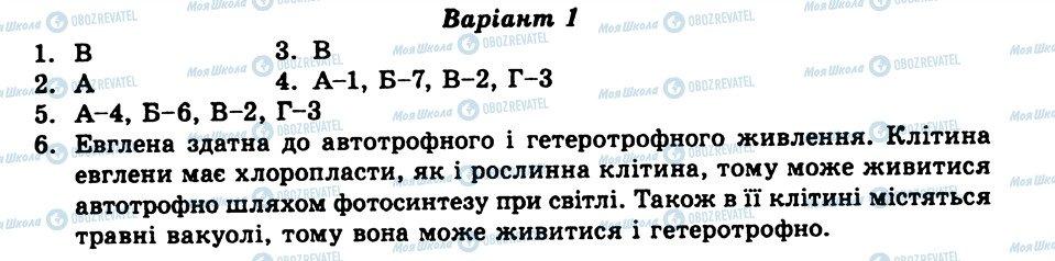 ГДЗ Біологія 8 клас сторінка СР3