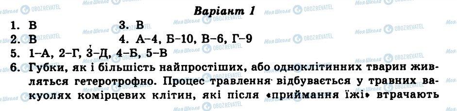 ГДЗ Біологія 8 клас сторінка СР5