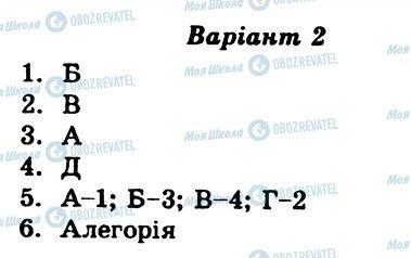 ГДЗ Українська література 8 клас сторінка СР10