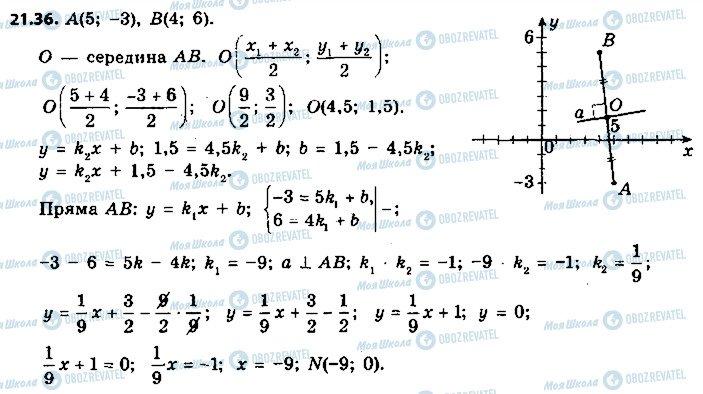 ГДЗ Геометрия 9 класс страница 36