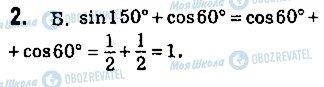 ГДЗ Геометрія 9 клас сторінка 2