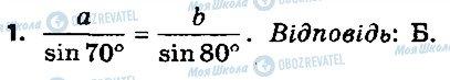 ГДЗ Геометрия 9 класс страница 1