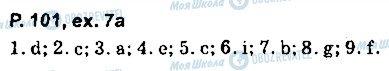 ГДЗ Английский язык 9 класс страница page101