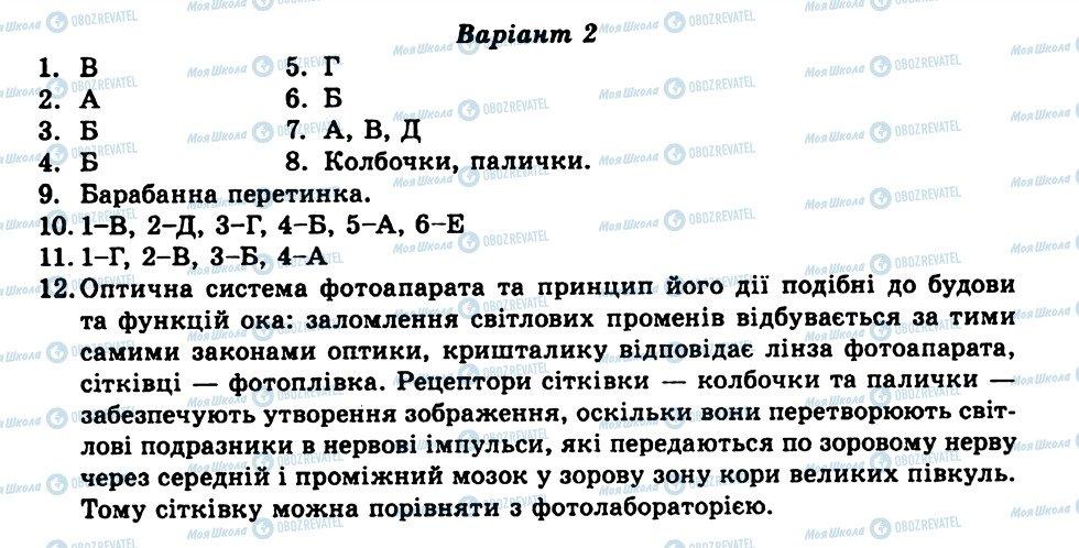 ГДЗ Биология 9 класс страница ТО10