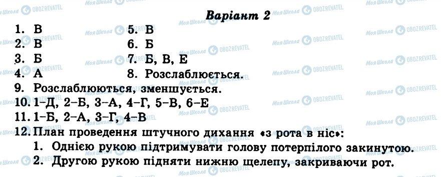 ГДЗ Биология 9 класс страница ТО4