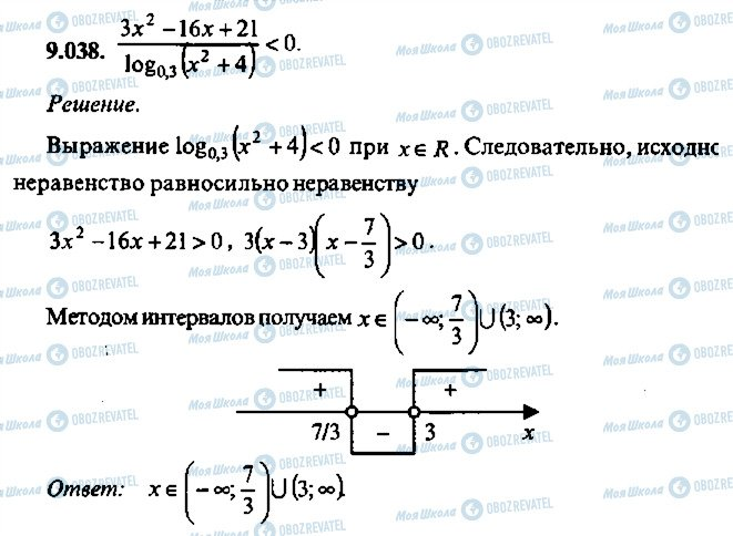 ГДЗ Алгебра 10 клас сторінка 38