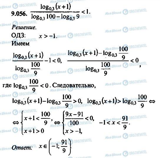 ГДЗ Алгебра 10 клас сторінка 56