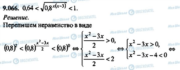 ГДЗ Алгебра 10 клас сторінка 66