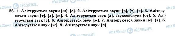 ГДЗ Укр мова 10 класс страница 26