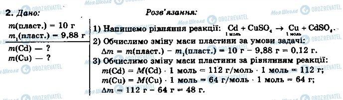 ГДЗ Химия 10 класс страница 2