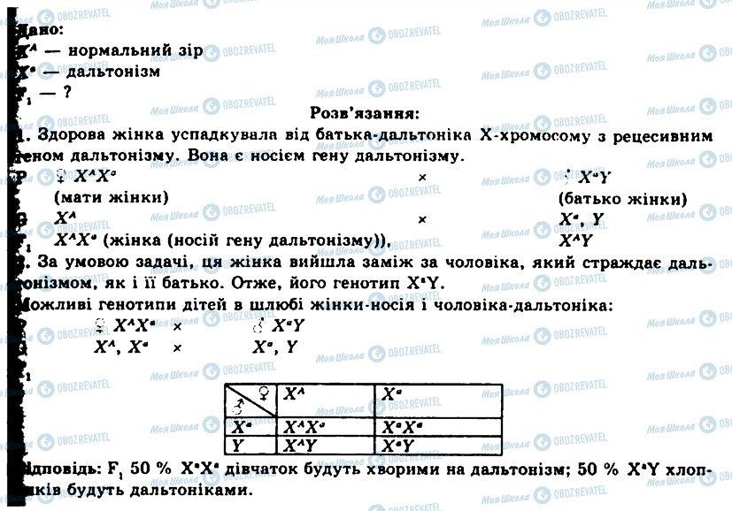 ГДЗ Біологія 11 клас сторінка ПР1