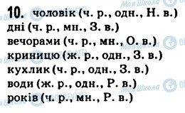 ГДЗ Укр мова 5 класс страница 10