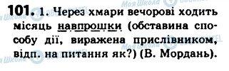 ГДЗ Українська мова 5 клас сторінка 101
