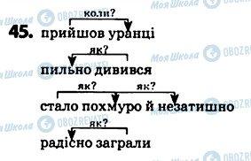 ГДЗ Укр мова 5 класс страница 45