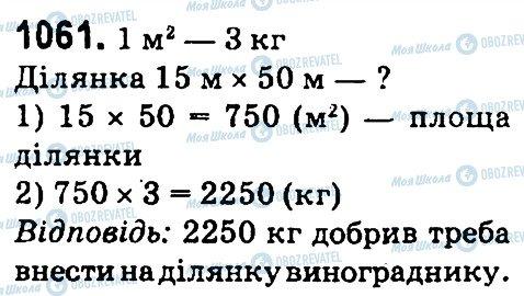 ГДЗ Математика 4 клас сторінка 1061