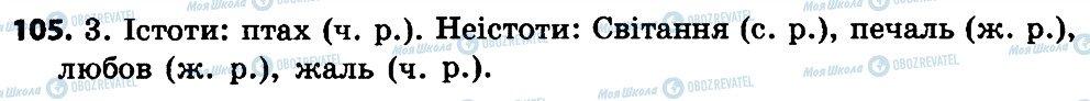 ГДЗ Укр мова 4 класс страница 105