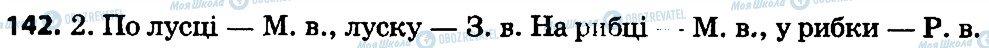 ГДЗ Укр мова 4 класс страница 142
