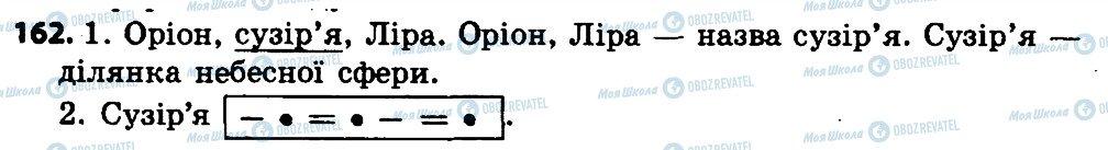 ГДЗ Укр мова 4 класс страница 162