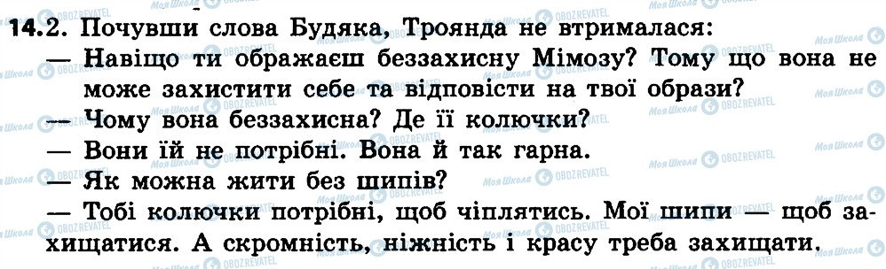 ГДЗ Українська мова 4 клас сторінка 14