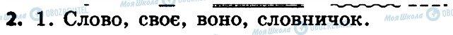 ГДЗ Українська мова 4 клас сторінка 2