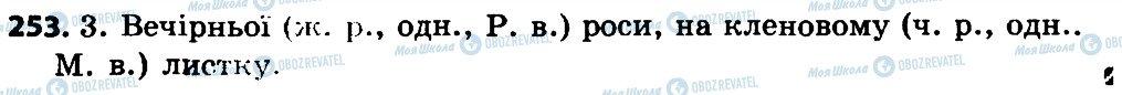 ГДЗ Укр мова 4 класс страница 253