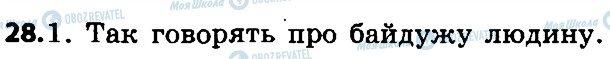 ГДЗ Укр мова 4 класс страница 28