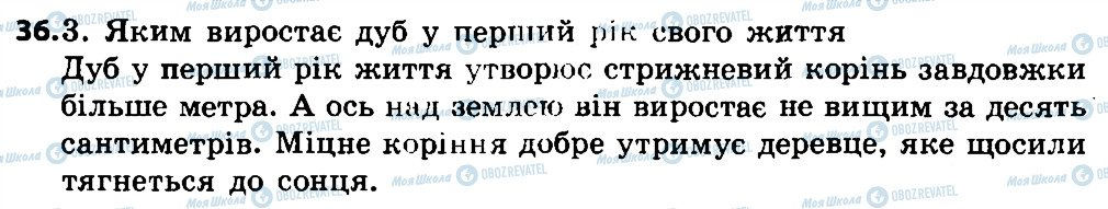 ГДЗ Укр мова 4 класс страница 36