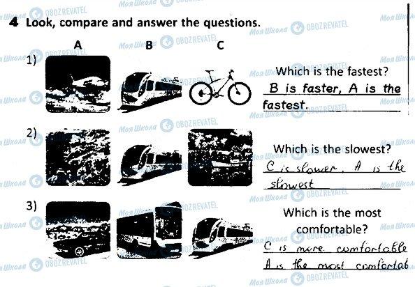 ГДЗ Английский язык 4 класс страница 79