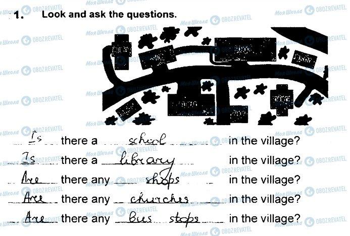 ГДЗ Английский язык 4 класс страница Сторінка54