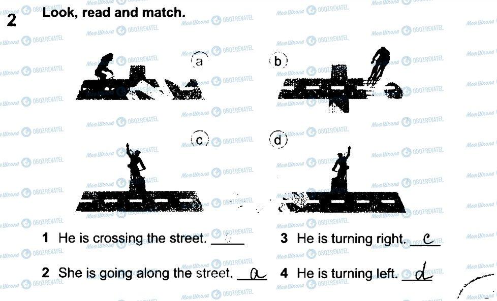ГДЗ Английский язык 4 класс страница 2