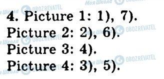 ГДЗ Англійська мова 4 клас сторінка 4
