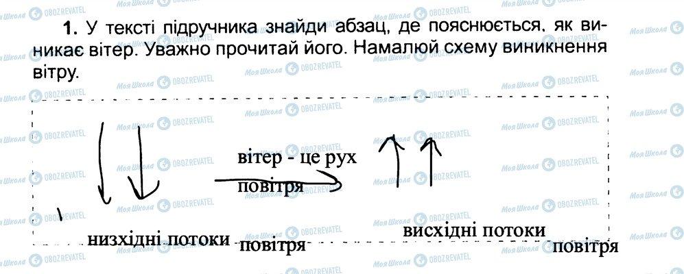 ГДЗ Природознавство 3 клас сторінка 1