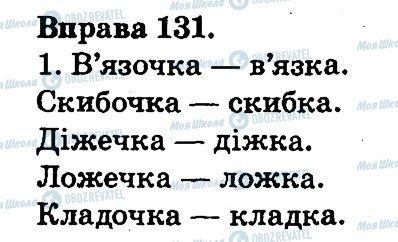 ГДЗ Українська мова 2 клас сторінка 131