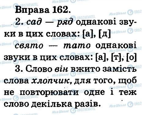 ГДЗ Українська мова 2 клас сторінка 162