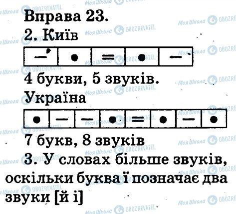 ГДЗ Українська мова 2 клас сторінка 23