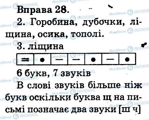 ГДЗ Українська мова 2 клас сторінка 28