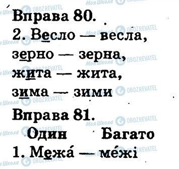ГДЗ Українська мова 2 клас сторінка 80