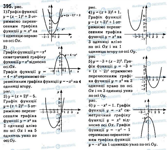 ГДЗ Алгебра 9 класс страница 395