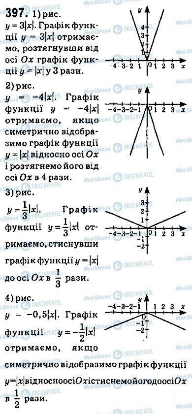 ГДЗ Алгебра 9 класс страница 397
