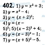 ГДЗ Алгебра 9 класс страница 402