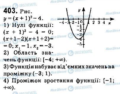 ГДЗ Алгебра 9 класс страница 403