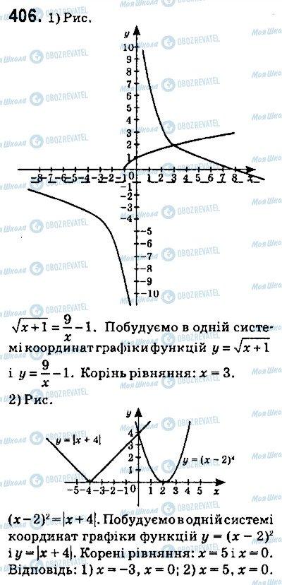 ГДЗ Алгебра 9 класс страница 406