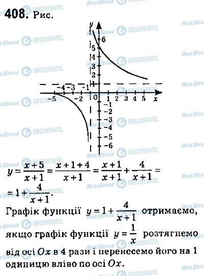 ГДЗ Алгебра 9 класс страница 408