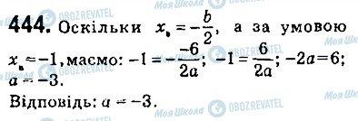 ГДЗ Алгебра 9 клас сторінка 444