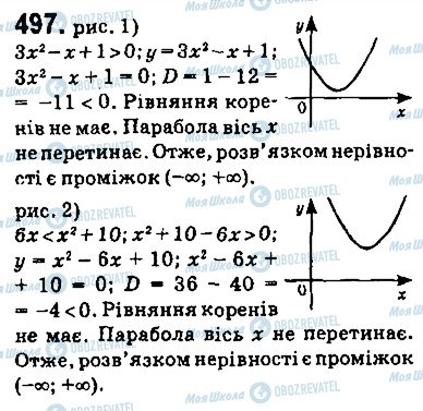 ГДЗ Алгебра 9 клас сторінка 497