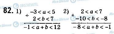 ГДЗ Алгебра 9 клас сторінка 82
