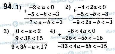 ГДЗ Алгебра 9 класс страница 94