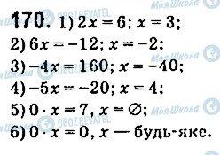 ГДЗ Алгебра 9 клас сторінка 170